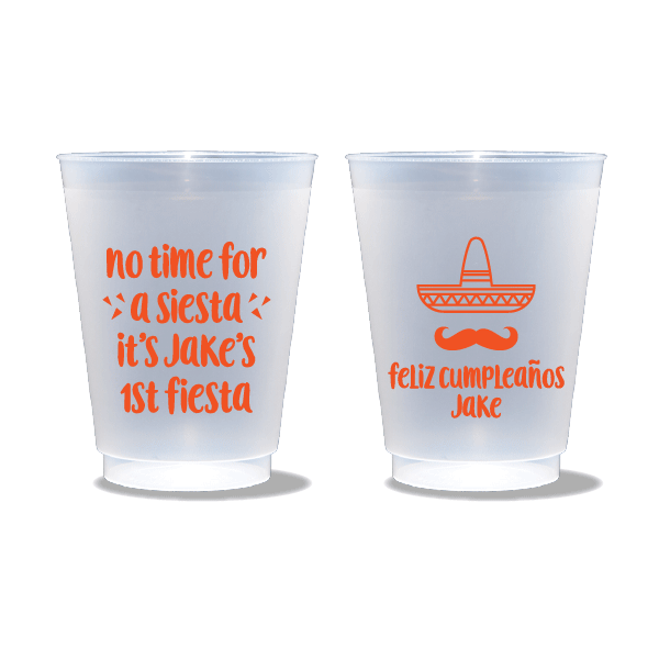 No Time for a Siesta Frosted Cups