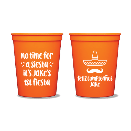 No Time for a Siesta Party Cups