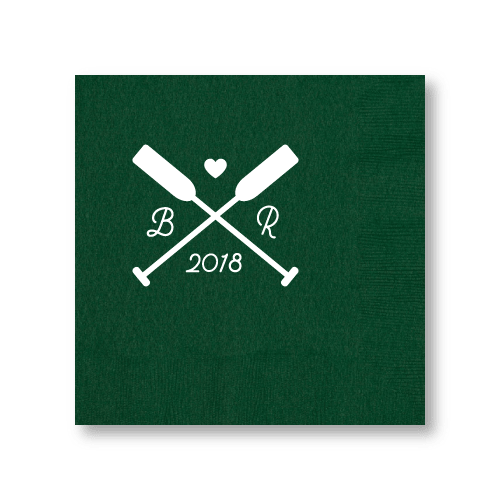 Wedding Oars Dinner Napkins