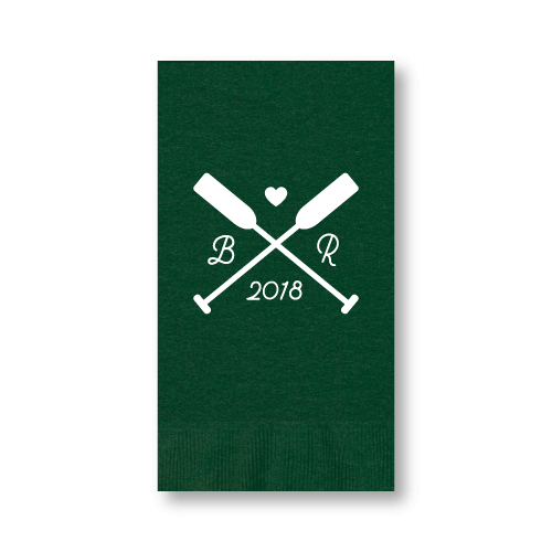 Wedding Oars Guest Towels