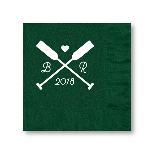 Wedding Oars Luncheon Napkins