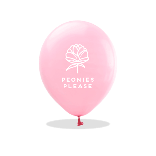 Peonies Please Latex Balloons