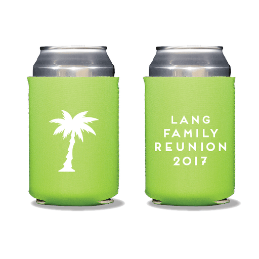 Palm Reunion Can Coolers