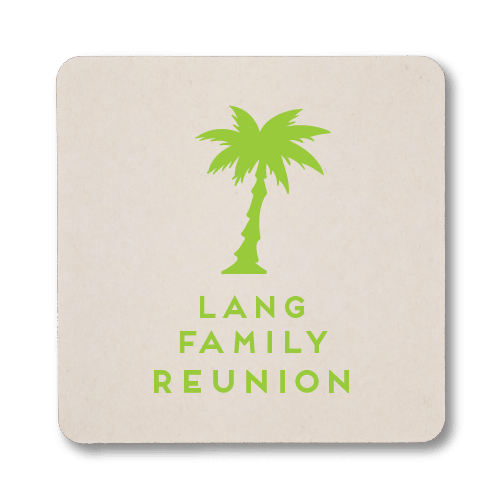 Palm Reunion Coasters