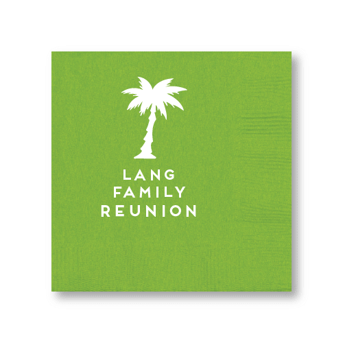 Palm Reunion Cocktail Napkins