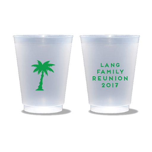 Palm Reunion Frosted Cups