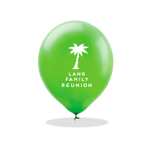 Palm Reunion Latex Balloons