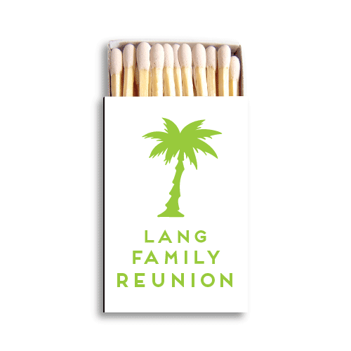 Palm Reunion Matchboxes
