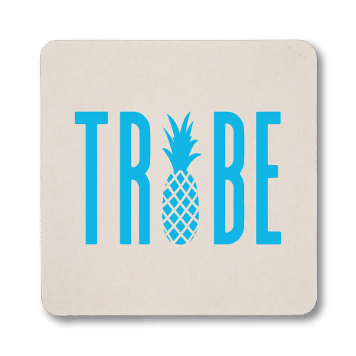 Pineapple Tribe Coasters