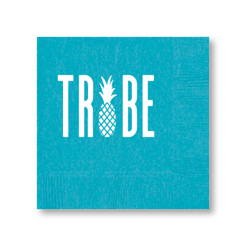 Pineapple Tribe Cocktail Napkins