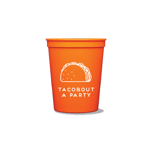Tacobout a Party Party Cups
