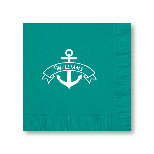 Anchor Banner Dinner Napkins