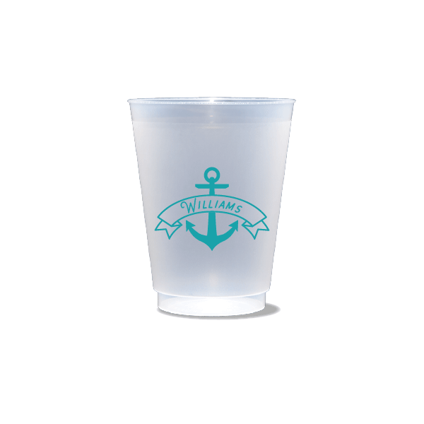 Anchor Banner Frosted Cups