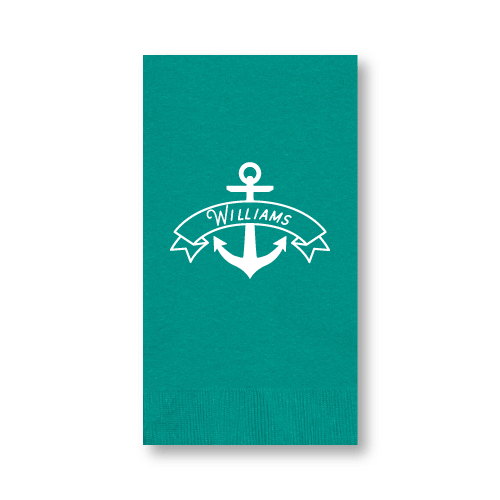 Anchor Banner Guest Towels