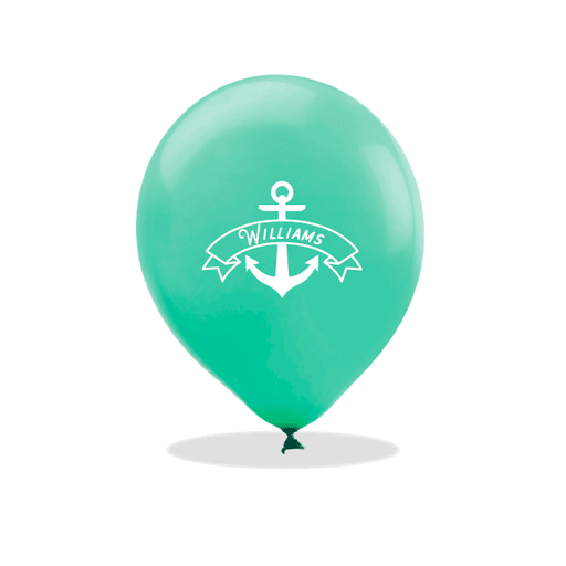 Anchor Banner Latex Balloons