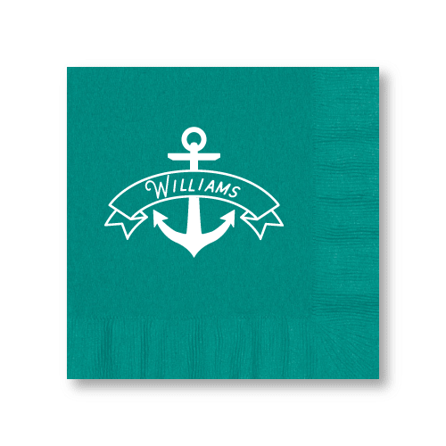 Anchor Banner Luncheon Napkins