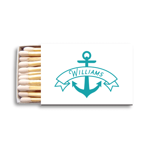 Anchor Banner Matchboxes