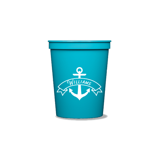 Anchor Banner Party Cups