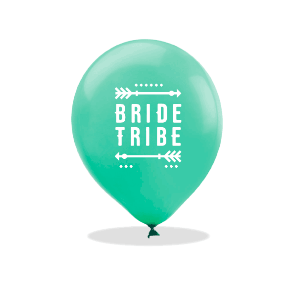 Tribal Bachelorette Latex Balloons
