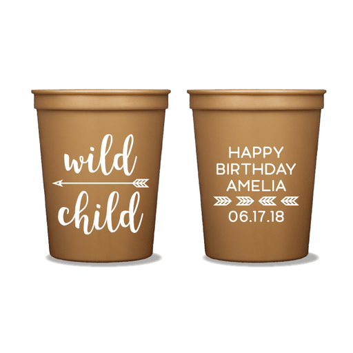 Wild Child Party Cups