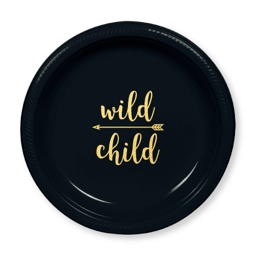 Wild Child Plastic Plates