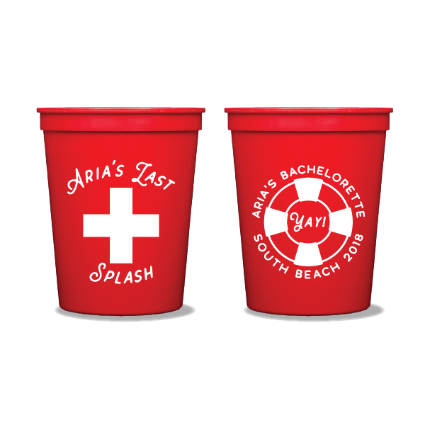 Last Splash Party Cups