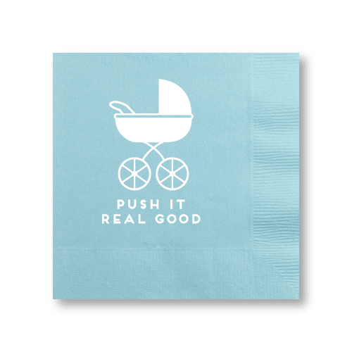 Push It Real Good Cocktail Napkins