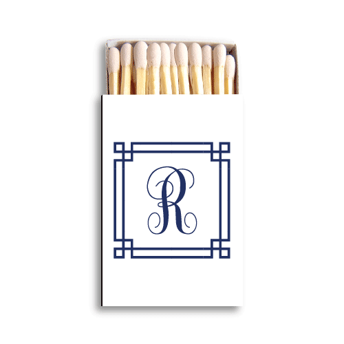 Square Frame Monogram Matchboxes