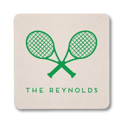 Tennis Racquets Coasters