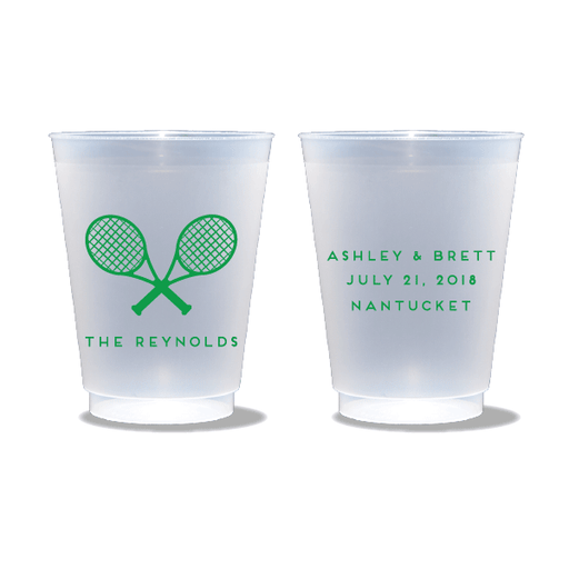 Tennis Racquets Frosted Cups