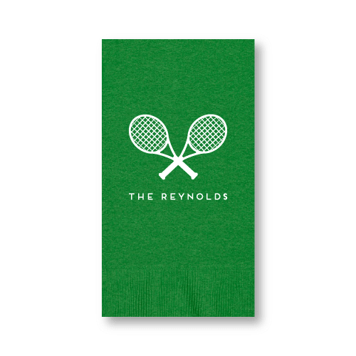 Tennis Racquets Guest Towels
