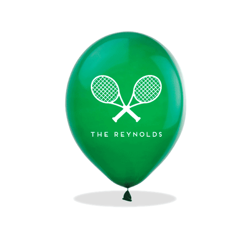 Tennis Racquets Latex Balloons