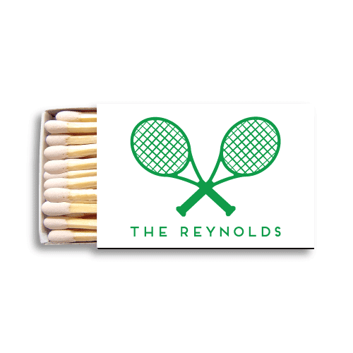 Tennis Racquets Matchboxes
