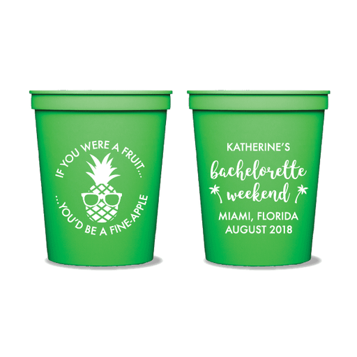 Fineapple Party Cups