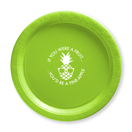 Fineapple Paper Plates