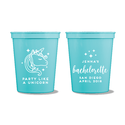 Party Like A Unicorn Party Cups
