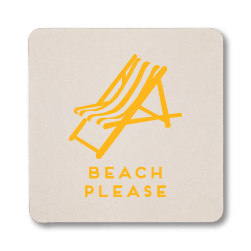Beach Please Coasters