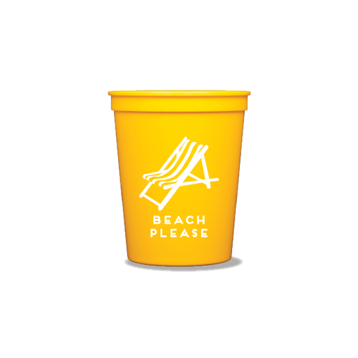 Beach Please Party Cups
