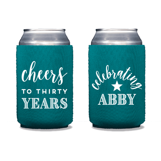 Cheers to Thirty Years Can Coolers