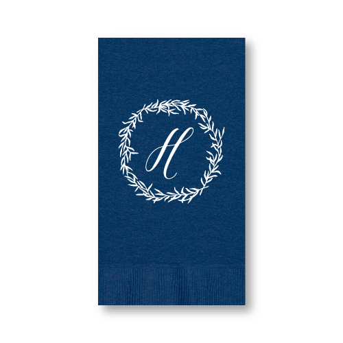 Delicate Wreath Guest Towels