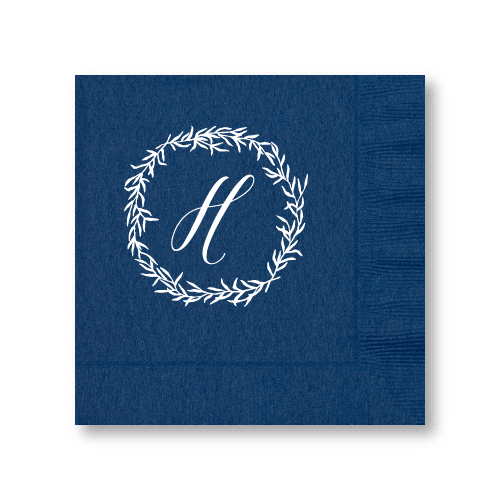 Delicate Wreath Luncheon Napkins