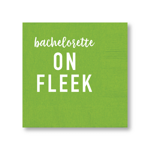 Bachelorette On Fleek Cocktail Napkins
