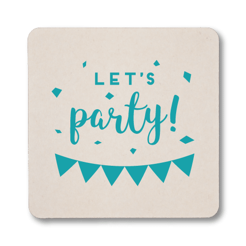 Let's Party Coasters