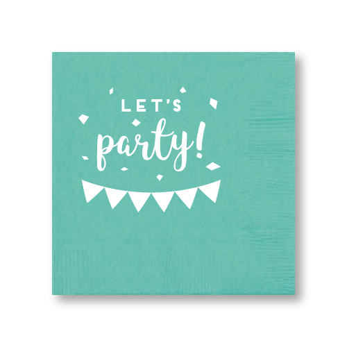 Let's Party Cocktail Napkins