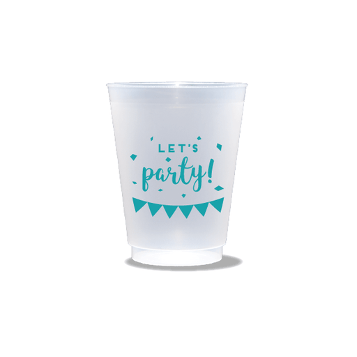 Let's Party Frosted Cups