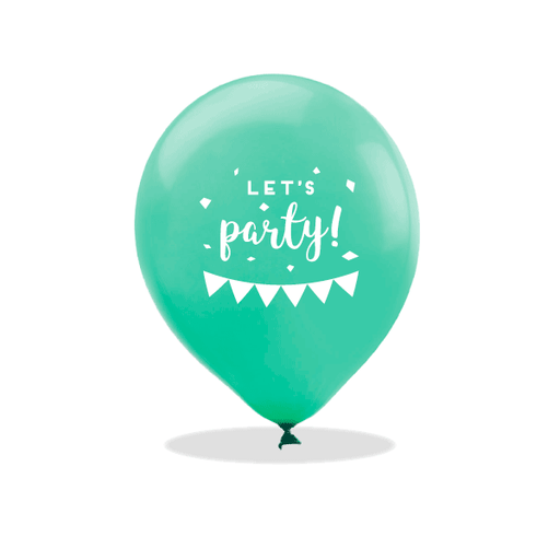 Let's Party Latex Balloons