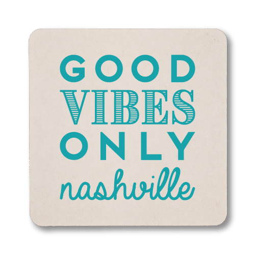 Good Vibes Only Coasters