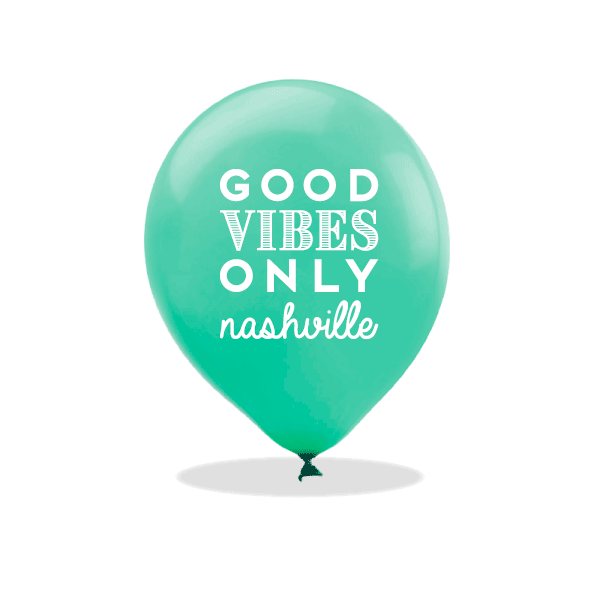 Good Vibes Only Latex Balloons