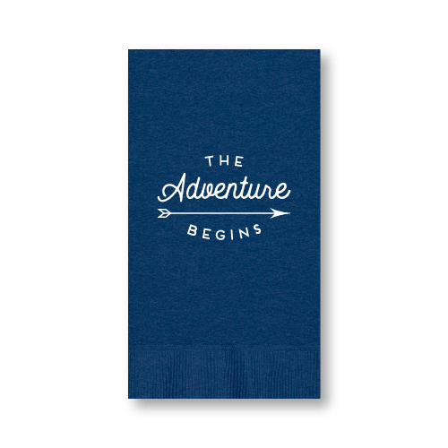 The Adventure Begins Guest Towels