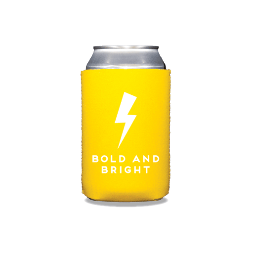 Bold and Bright Can Coolers